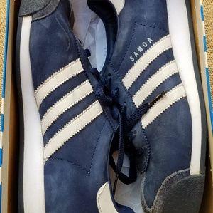 Adidas (Samoa) Indigo Blue/Wht